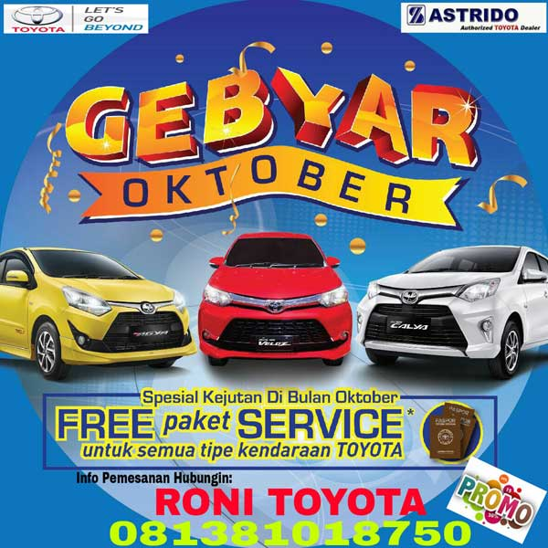 Promo Toyota By Roni