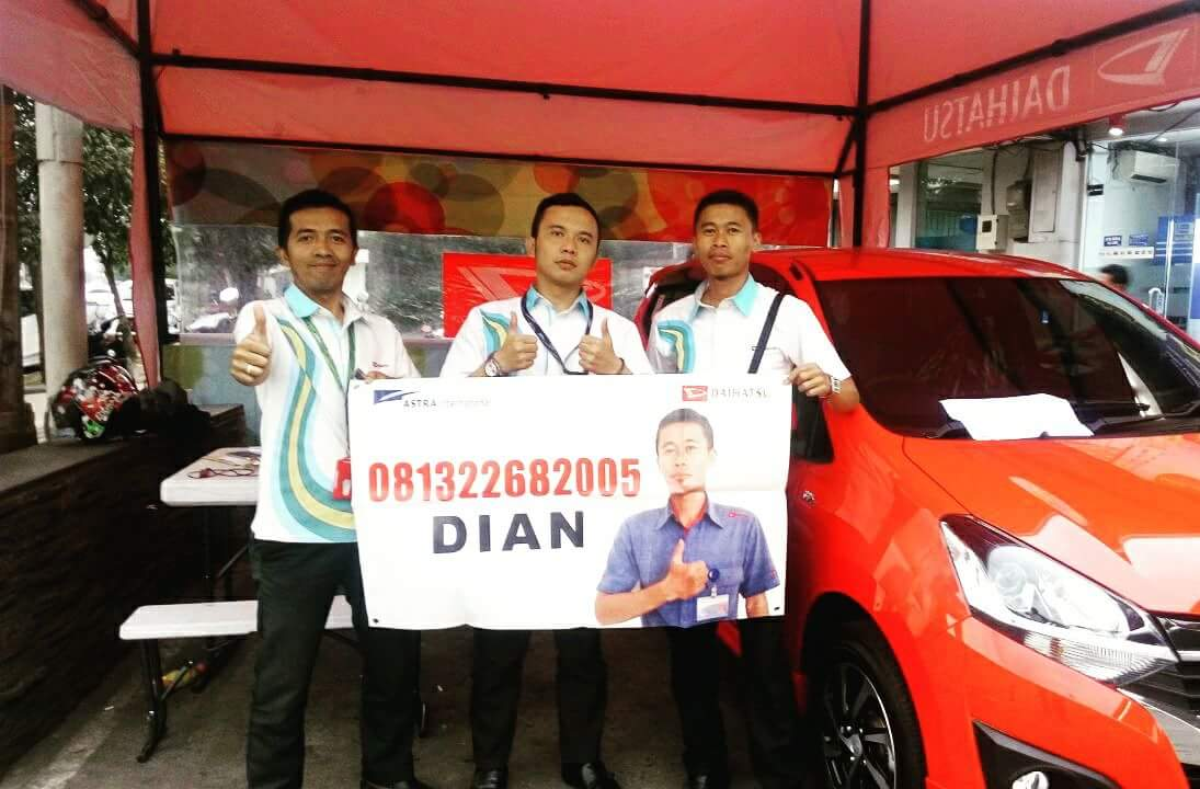 Sales Marketing Mobil Dealer Daihatsu Dian Kora