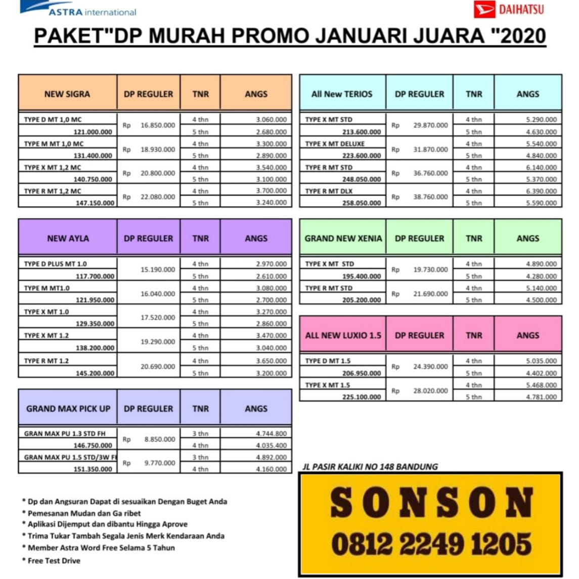 Promo By Sonson